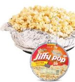 Photo of old Jiffy Pop popcorn
